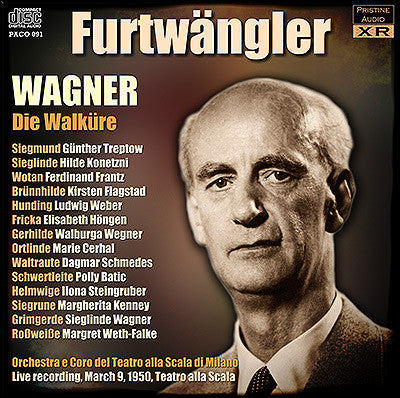 FURTWÄNGLER Wagner Ring Cycle: 2. Die Walküre (1950, La Scala) - PACO091
