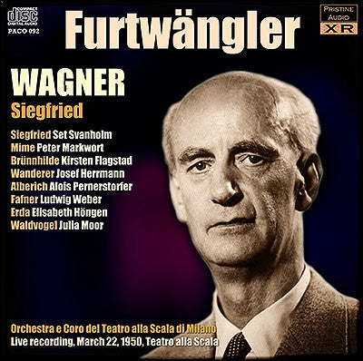 FURTWÄNGLER Wagner Ring Cycle: 3. Siegfried (1950, La Scala) - PACO092