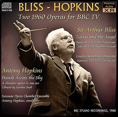 BLISS Tobias and the Angel - HOPKINS Hands Across the Sky (1960) - PACO096