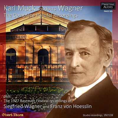 MUCK Wagner: The Complete Parsifal Recordings et al (1927/28) - PACO103