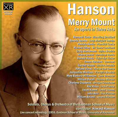 HANSON conducts Hanson: Merry Mount (1955/57) - PACO108