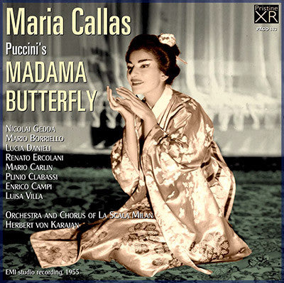CALLAS Puccini: Madama Butterfly (1955) - PACO113
