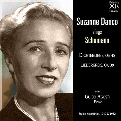 DANCO The Complete Schumann Recordings (1949/52) - PACO116