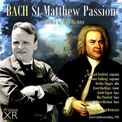 RICHTER Bach: St. Matthew Passion (1958) - PACO126