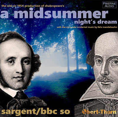 SARGENT Mendelssohn/Shakespeare: A Midsummer Night's Dream (1954) - PACO133