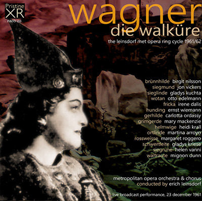 LEINSDORF Wagner Ring Cycle: 2. Die Walküre (1961, Met) - PACO153