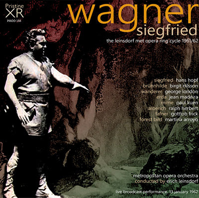 LEINSDORF Wagner Ring Cycle: 3. Siegfried (1962, Met) - PACO155