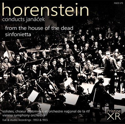 HORENSTEIN Janáček: From The House Of The Dead, Sinfonietta (1953/55) - PACO173