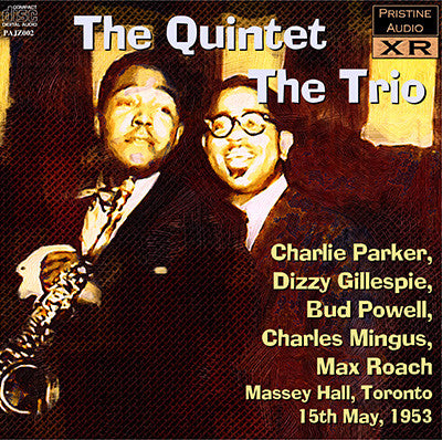 THE QUINTET Massey Hall, Toronto (1953) - PAJZ002