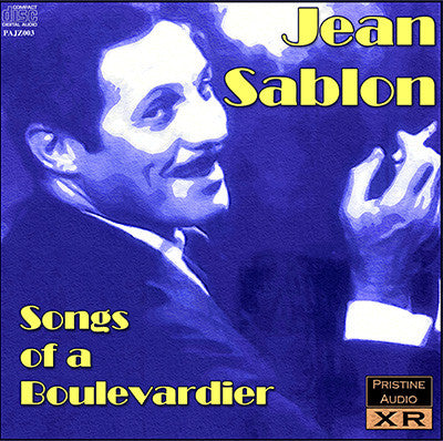 JEAN SABLON Songs of a Boulevardier (1952, 1933-39) - PAJZ003