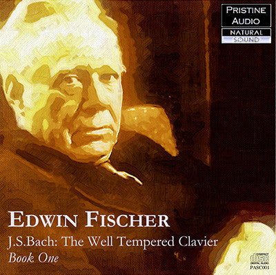 FISCHER Bach: The Well-Tempered Clavier (1933-36) - PAKM001