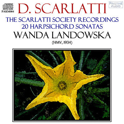 LANDOWSKA The Scarlatti Society Recordings (1934) - PAKM004