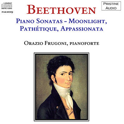 FRUGONI Beethoven: Three Piano Sonatas (1951) - PAKM019