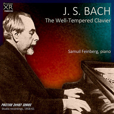 FEINBERG Bach: The Well-Tempered Clavier (1958-61) - PAKM063