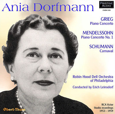 DORFMANN plays Grieg, Mendelssohn and Schumann - PAKM066