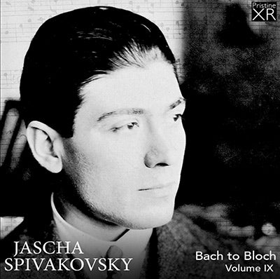 SPIVAKOVSKY Bach to Bloch, Volume 9 (1953-61) - PAKM081