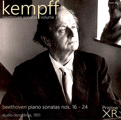 KEMPFF The Beethoven Piano Sonatas, Volume 3 (1951) - PAKM084