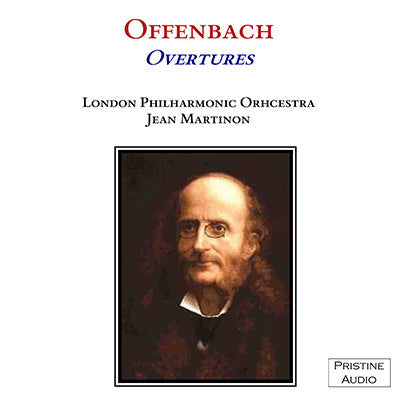 MARTINON Offenbach: Five Overtures (1951) - PASC007
