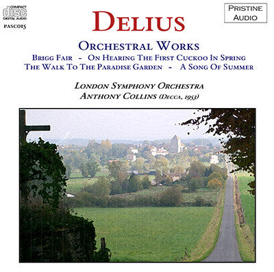 COLLINS Delius: Orchestral Works (1953) - PASC015