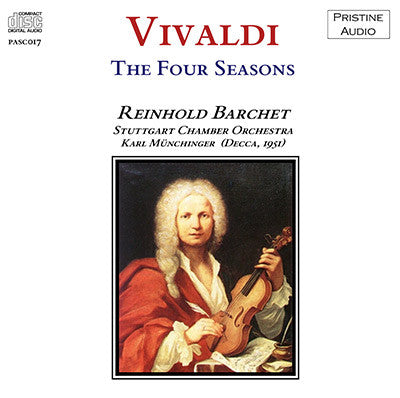 BARCHET Vivaldi - The Four Seasons (1951) - PASC017