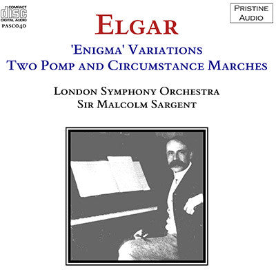 SARGENT Elgar: Enigma Variations, Two Pomp & Circumstance Marches (1953) - PASC040