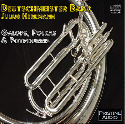 DEUTSCHMEISTER BAND Galops, Polkas and Potpourris (1955) - PASC063
