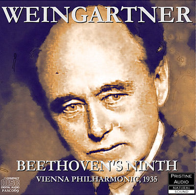 WEINGARTNER Beethoven: Symphony No. 9 'Choral' (1935) - PASC069
