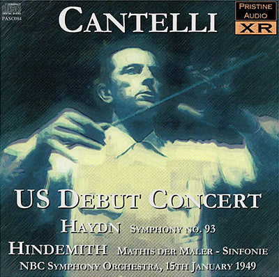 CANTELLI US Debut Concert: Haydn & Hindemith (1949) - PASC084
