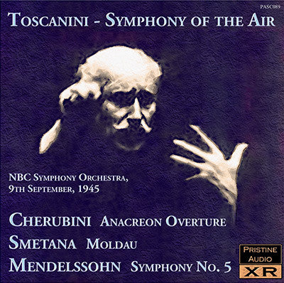 TOSCANINI Symphony of the Air: Cherubini, Smetana, Mendelssohn (1945) - PASC089