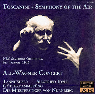 TOSCANINI Symphony of the Air: All-Wagner Programme (1946) - PASC091