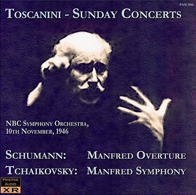 TOSCANINI The 'Manfred' Concert (1946) - PASC096