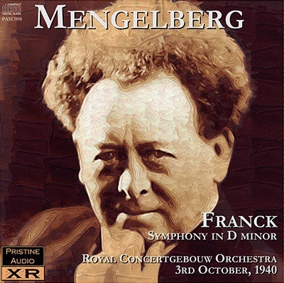 MENGELBERG Franck: Symphony in D minor (1940) - PASC098