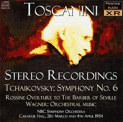 TOSCANINI in Stereo: Rossini, Tchaikovsky, Wagner (1954) - PASC119