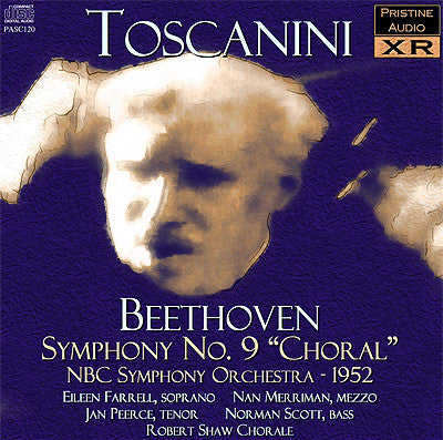 "TOSCANINI Beethoven: Symphony No. 9 ""Choral"" (1952) - PASC120"