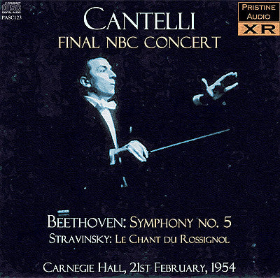 CANTELLI Final NBC SO Concert: Stravinsky, Beethoven's 5th (1954) - PASC123