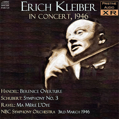 KLEIBER conducts Handel, Schubert, Ravel (1946) - PASC125