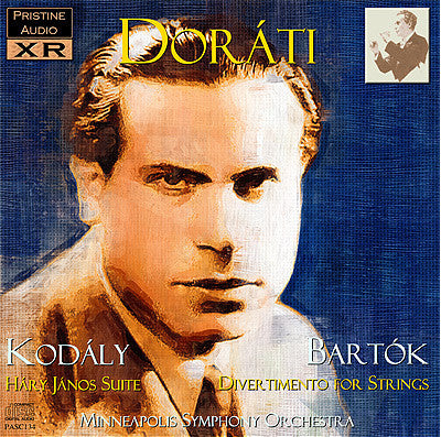 DORÁTI Kodály: Hary Janos Suite, Bartók: Divertimento for Strings (1950) - PASC134