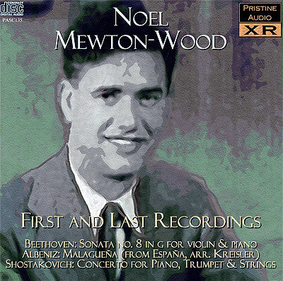 MEWTON-WOOD First and Last Recordings: Albéniz, Beethoven, Shostakovich (1941/53) - PASC135