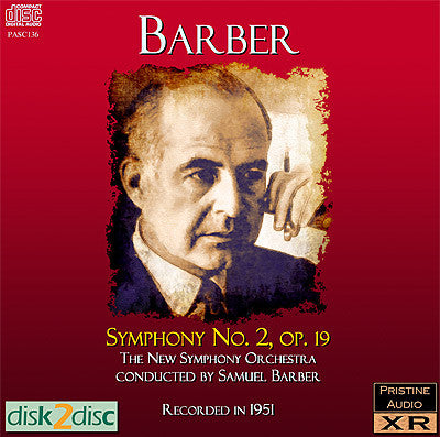 BARBER conducts Barber: Symphony No. 2 (1951) - PASC136