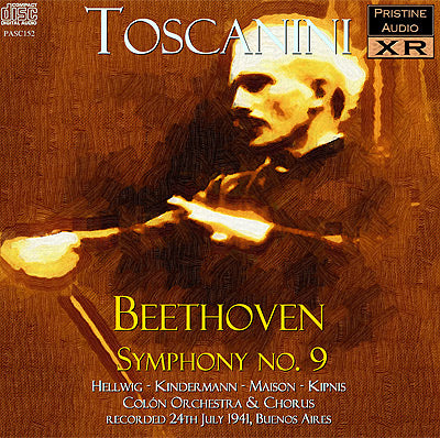 TOSCANINI Beethoven: Symphony No 9 in D minor, 'Choral', Op. 125 (1941) - PASC152
