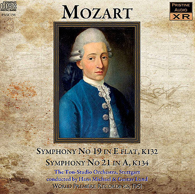 MICHEAL, LUND Mozart: Symphonies 19 and 21 (1951) - PASC156