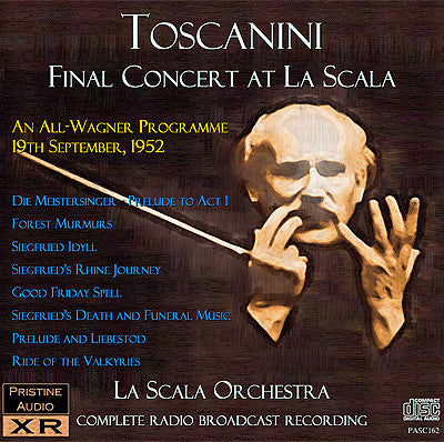 TOSCANINI The Final Concert at La Scala – All-Wagner (1952) - PASC162