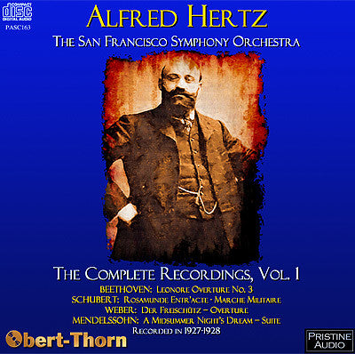 HERTZ The Complete San Francisco Recordings, Volume 1 (1927/28) - PASC163