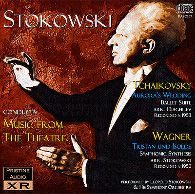 STOKOWSKI conducts Music from the Theatre: Tchaikovsky & Wagner (1950/53)  - PASC167