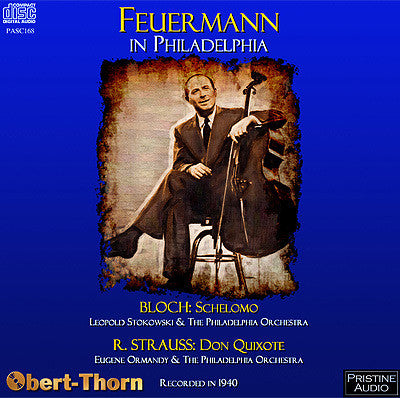 FEUERMANN in Philadelphia: Bloch & Strauss (1940) - PASC168