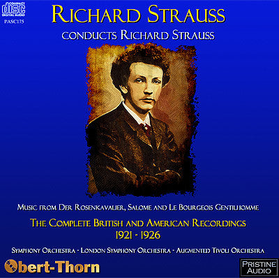 Richard Strauss conducts Richard Strauss - PASC175
