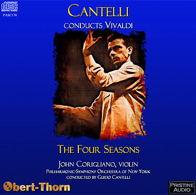 CANTELLI Vivaldi: The Four Seasons (1955) - PASC176