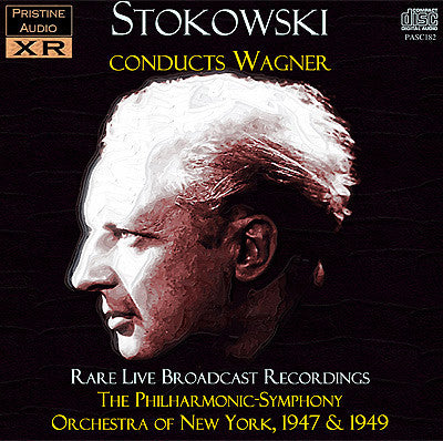 STOKOWSKI Wagner - rare New York Philharmonic recordings (1947/49) - PASC182