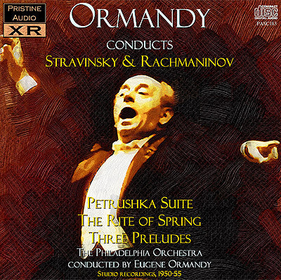 ORMANDY conducts Stravinsky and Rachmaninov (1950-55) - PASC183
