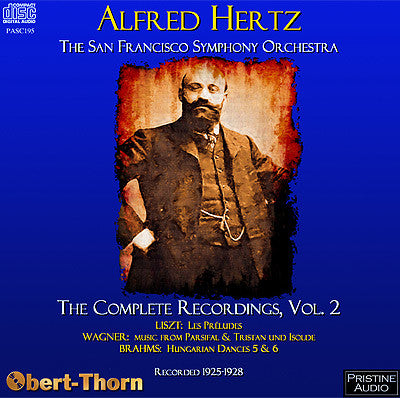 HERTZ Complete San Francisco Recordings, Volume 2 (1925-28) - PASC195